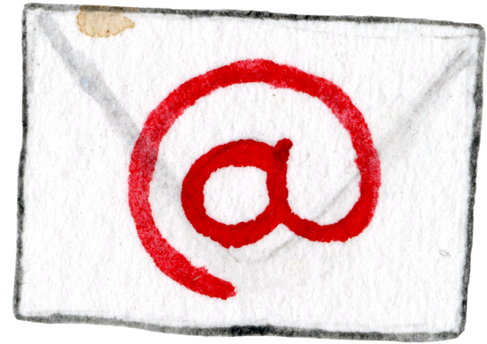 Illustration of an Envelope: Link to Email Naomi